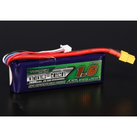 Turnigy Nano-Tech 1600mAh 3S 25C LiPo Battery