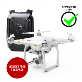 DJI Phantom 3 Professional Camera Drone (Approved Used)