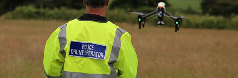 ~Police Drone image