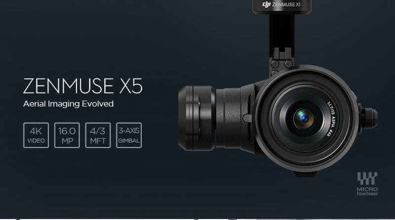 Zenmuse X5 Introduction Image