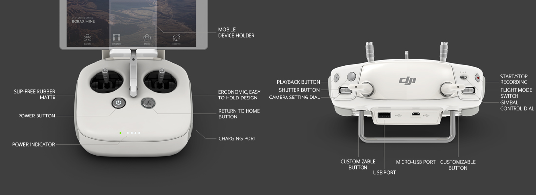 DJI Phantom 3 Remote Control